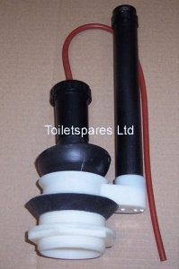 Black Bung Flush Valve