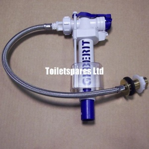 Geberit Inlet Valve with 3/8'' Flexi Hose
