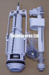 Madrid Toilet Fittings Pack