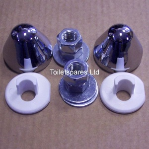 Pan Fixing Nuts CHROME