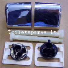 CHROME Coloured Celmac DPP Hinges