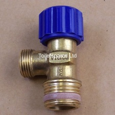 Isolation Valve, Blue
