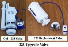 Long cable (500mm) 228 valve