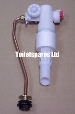 V & B Inlet Valve with Copper Upstand