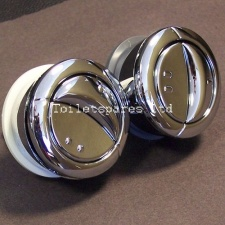Wirquin Chrome Replacement Dual Flush BUTTON