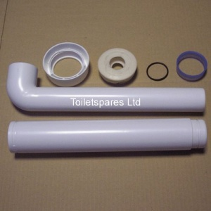Wirquin Complete FLUSH PIPE KIT
